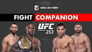 UFC 253: Adesanya vs Costa and Reyes vs Blachowicz Fight Companion