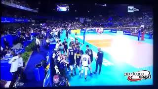 Volley, Italia-Argentina: Andrea Lucchetta parla sardo!