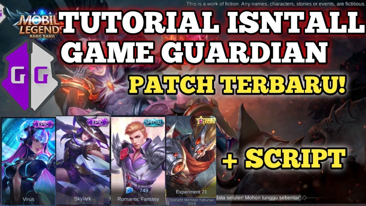Script Skin Mobile Legend Patch Dyrroth + Tutorial Install Game