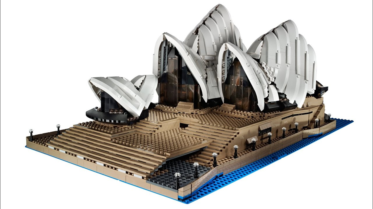lego sydney opera architecture creator expert awesome pieces most build