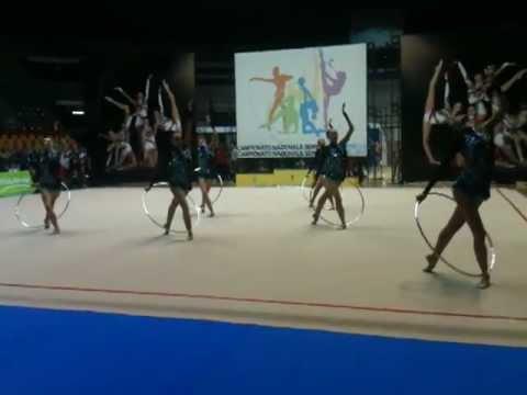 Desio - Serie A1 2012 rhythmic gymnastics - Italian Team Exhibition