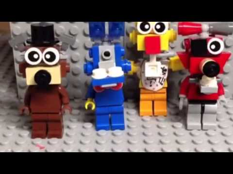 Fnaf 2 rap animation Lego