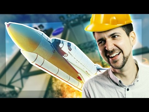 WE DROPPED THE SPACE SHUTTLE - Giant Machines 2017 [#6] |