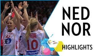 Netherlands vs Norway | Final | Highlights | EHF EURO 2016
