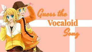Guess the Vocaloid Song!