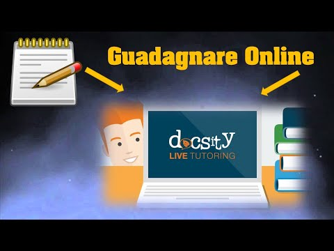 Come Guadagnare Online Vendendo Appunti su Docsity   Tutorial 2020