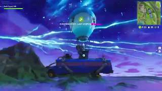 Fortnite Rocket Launch View From Bus When Sky Cracks