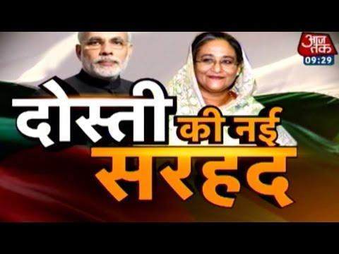 Modi Heads To Bangladesh To Mark Land-Swap Deal