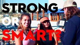 Do Women Prefer Smart or Strong Guys?