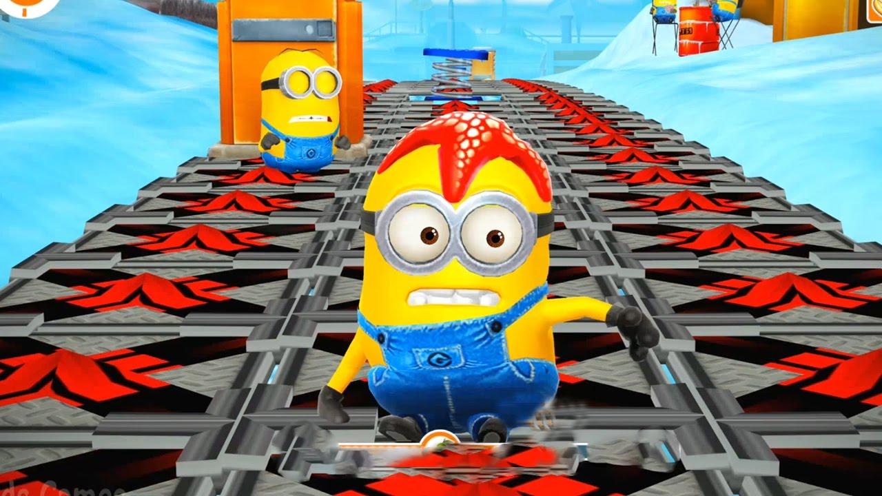 Despicable Me 2 – Minion Rush : Starfish Minion Run For 9 Minutes ! Minion Games