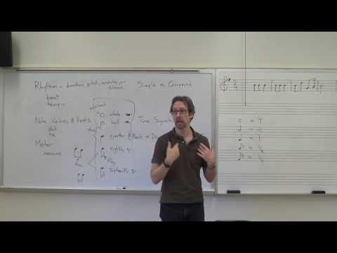 Dr. B Music Theory Lesson 5 (Note Values, Triplets, Meter)