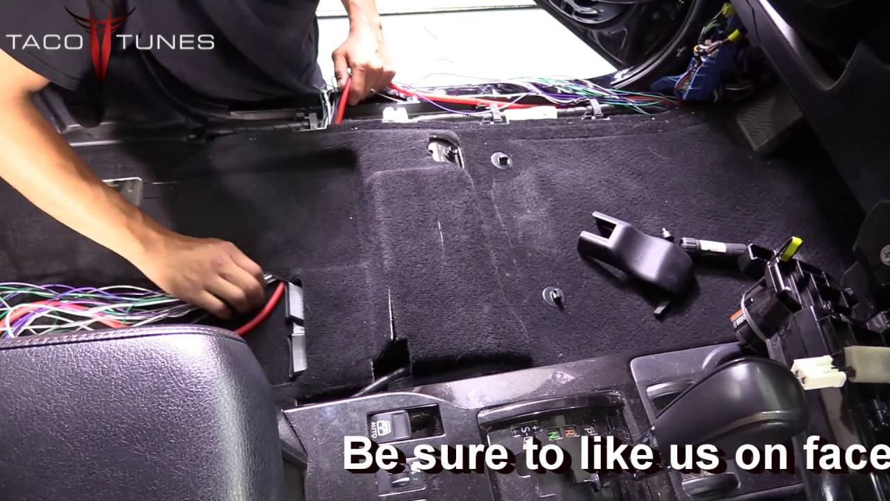 toyota 4runner how to install and route plug and play amp harness system [ 1280 x 720 Pixel ]