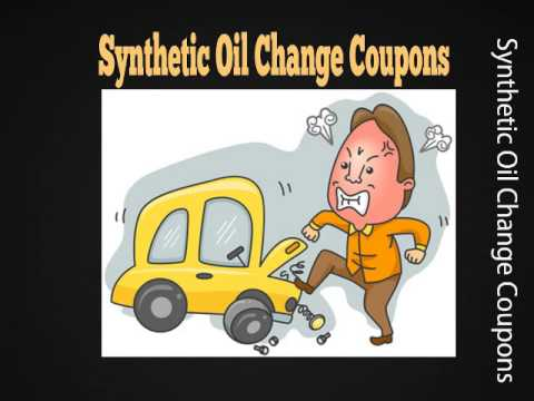 Synthetic Oil Change Coupons - Grab Your Synthetic oil change specials and deals
