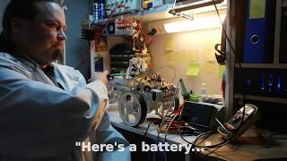 Mad scientist-Projekt - der Erste Schritt der Erstellung AI für Howard, Der GuardBot