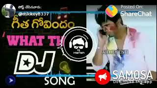 Geeta Govindam  & ARJUN REDDY #. DJ REMIX DIALOGUES FUNNY VIDEO Song