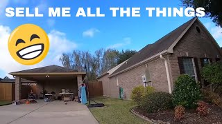 TEXAS GARAGE SALE - SELL ME ALL THE THINGS