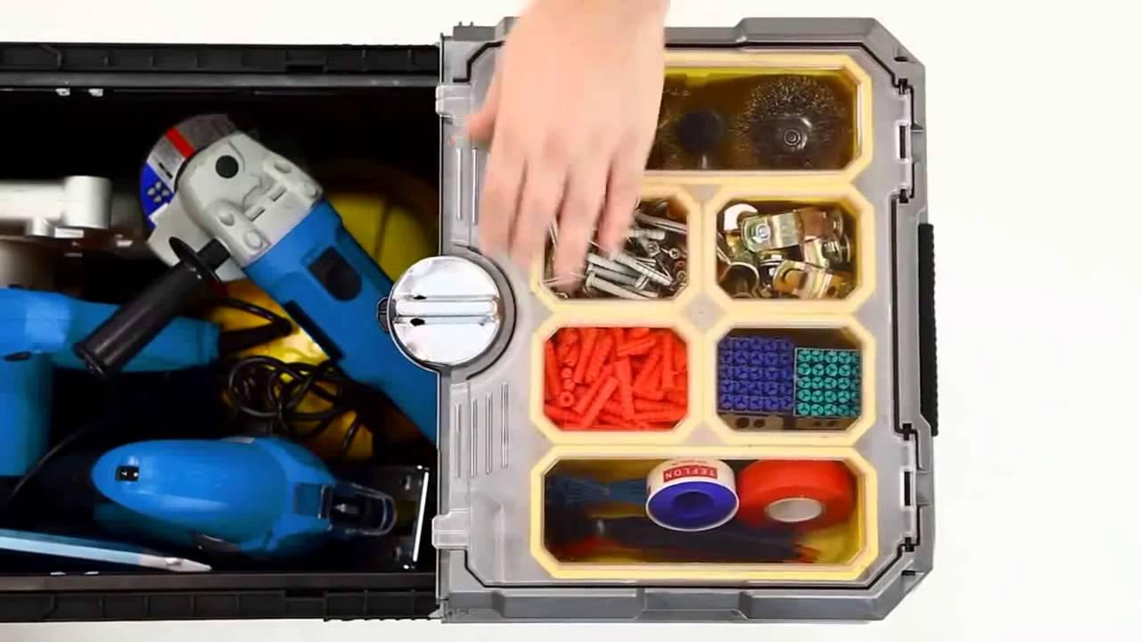Купить Ящик для инструментов с колесами Stanley
