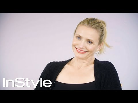 Cameron Diaz Looks Back At Her Past InStyle Covers | 25th Anniversary | InStyle