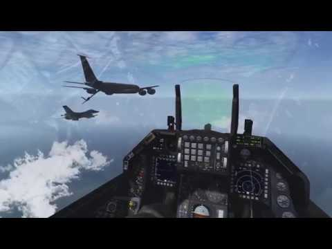 Fighter Sweep 2 vs 4 - Falcon BMS