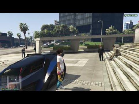 GTA V Online--Random CEO Work With Vigilante