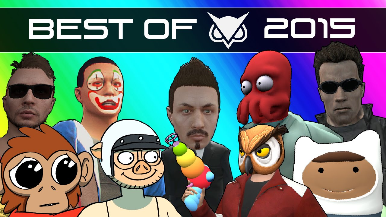Vanoss Gaming Funny Moments - Best Moments of 2015 (Gmod, GTA 5, Zombies, Dead Realm, & More!)