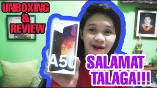 MAY NAGBIGAY SAKIN NG PHONE!!! | (SAMSUNG A50 REVIEW AND UNBOXING)