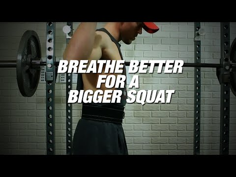 Breathe better for a bigger squat