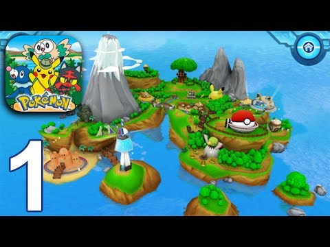 CAMP POKEMON Gameplay Part 1  Arena  Pokeball Roll iOS Android