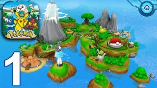 CAMP POKEMON Gameplay Part 1 - Arena + Pokeball Roll (iOS Android)
