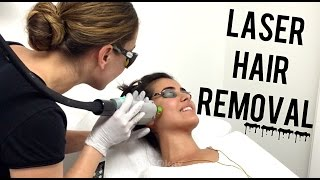 First Time Laser Hair Removal Vlog (Funny)