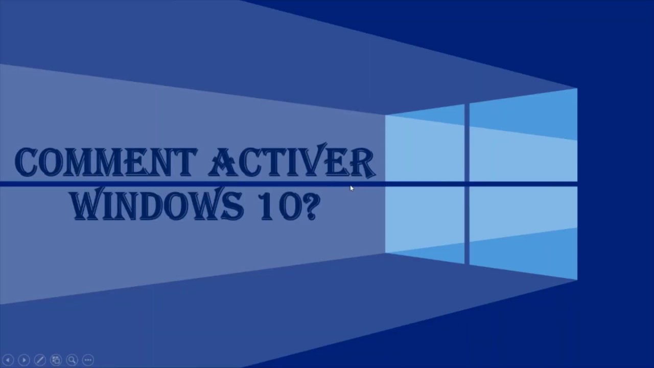 COMMENT ACTIVER WINDOWS 10 GRATUITEMENT 2020