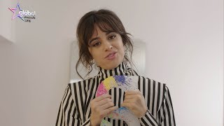 Camila Cabello wins 'Best Female' at the Global Awards 2018