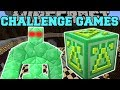 Minecraft: GIANT EMERALD GOLEM CHALLENGE GAMES - Lucky ...