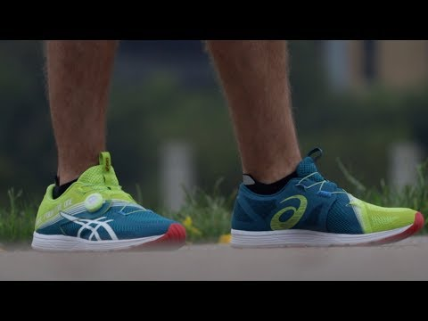 NO LACES RUNNING SHOES? ASICS 451 YouTube