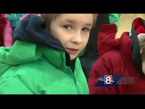 Hundreds of coats given away at Sanford elementary school