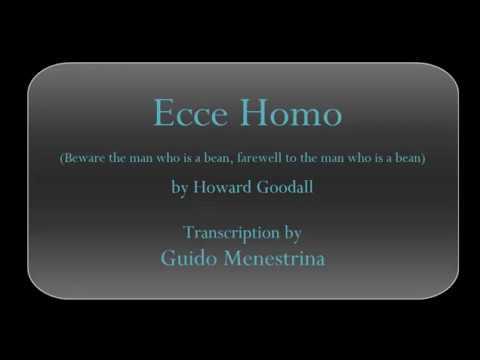 Howard Goodall - Ecce homo for piano and SATB choir