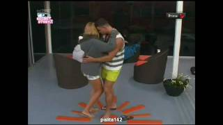 Daniela Pimenta dança kizomba com o Marco