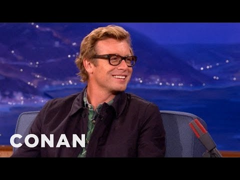 Simon Baker Pt. 1 102512  CONAN on TBS