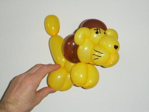 Тигр из шарика.