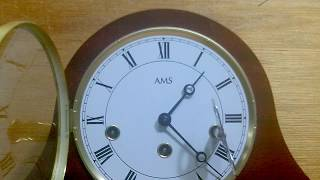 Winding The Ams Mantle Clock Is Easy.