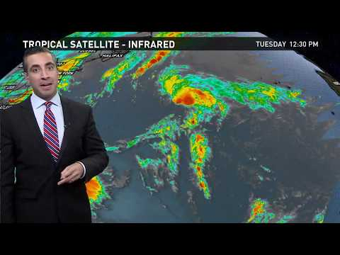 Tropics Update: Tropical Storm Rina, November 7 2017
