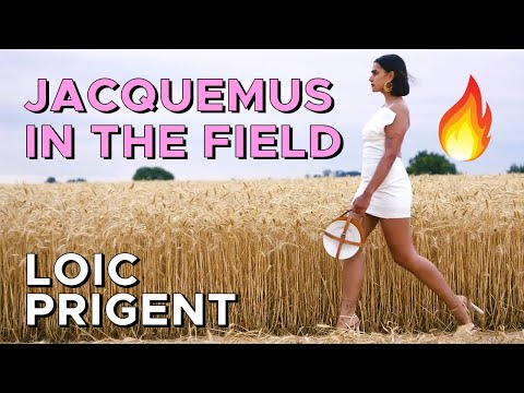 JACQUEMUS: THAT SHOW IN THE FIELD! feat. Lena Situations! By Loic Prigent