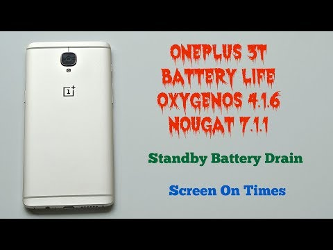 OnePlus 3T - Battery Life (OxygenOS 4.1.6)