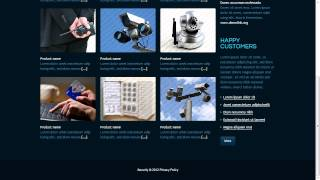 Security Services and Products Website Template