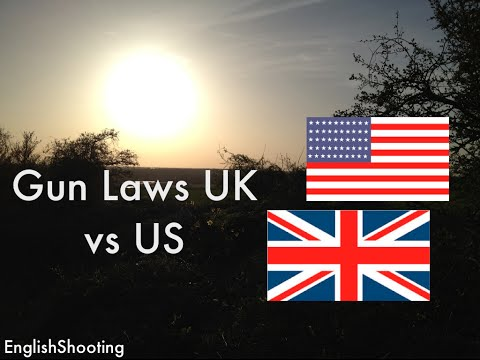 Gun Laws UK vs US and Why Banning Guns in the US Wouldn