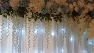 Свадьба в голубых тонах. Г.Глухов студия декора