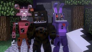 Minecraft | SECRET BASE CHALLENGE - Five Nights At Freddy