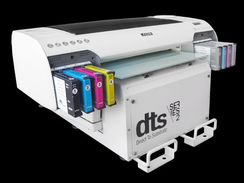 DTS - Direct to Substrate Printer - YouTube a775271dc5