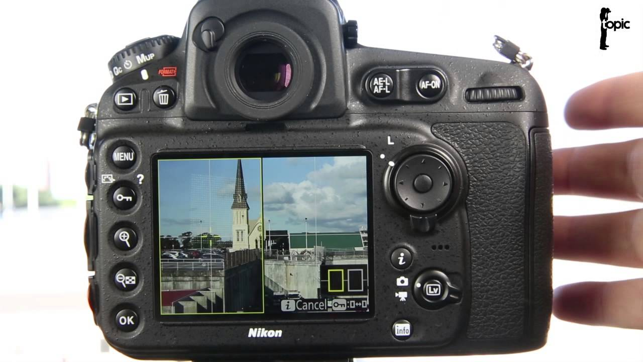Overview of what's new on the Nikon D810