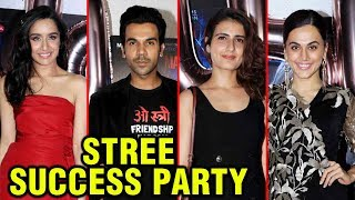 UNCUT - Stree Success Bash | Shraddha Kapoor, Rajkummar Rao Celebrate 150 Cr Box Office Collection